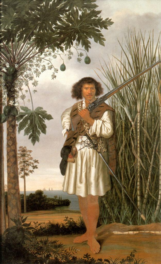 Mulato Man (Brazil) from the book Albert Eckhout: een Hollandse kunstenaar in Brazilië