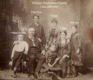 W.O. Jones, my Great Great Grandfather and his family in Louisville, ca 1885