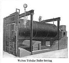 Walton Tubular Boiler 1911