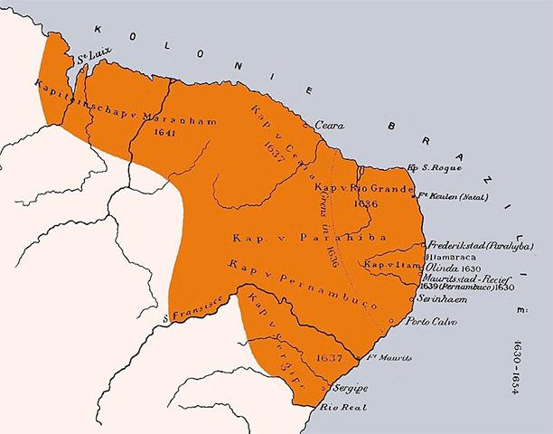 Dutch Brazil, 1630 - 1654